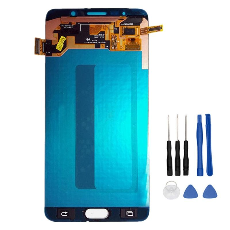 5.7 Amoled Touch Screen Digitizer Assembly For Samsung Galaxy Note 5 N9200 N920F N920A N920T N920C N920V N920W8 LCD+Tools