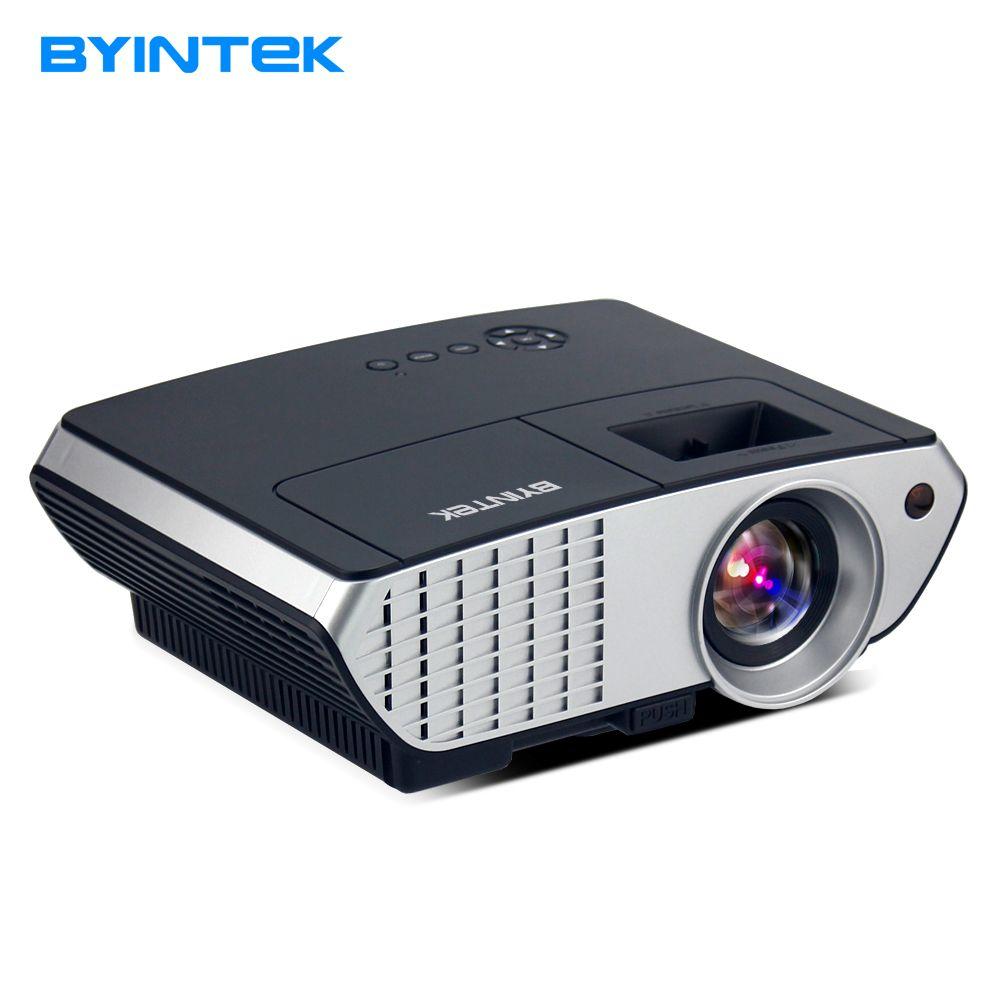 Byintek Moon BL126 HDMI USB ЖК-дисплей Мультимедиа Домашний Театр HD 1080 P Портативный светодиодный проектор (опционально: ОС Android/WI-FI)