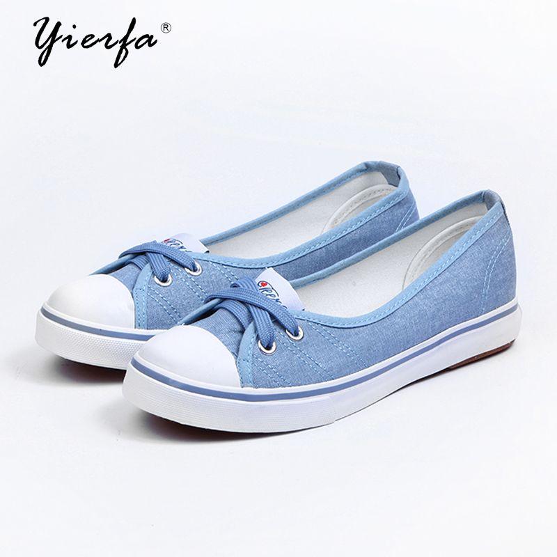 Spring light canvas shoes women shoes slip-on Korean tide students set foot <font><b>pedal</b></font> flat shoes