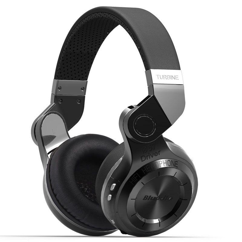 Bluedio T2 Bluetooth Stereo Headphone Wireless Folding Headphones Built-in Mic BT4.1 Powerful Bass Over-ear Headphones
