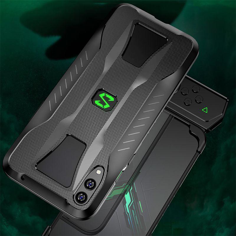 Pour Xiao mi noir requin 2 coque de téléphone TPU tout compris coque souple pour mi noir requin jeu téléphone pare-chocs étui antichoc 6.39 pouces