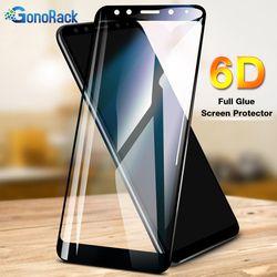 Gonorack 6D Penutup Penuh Screen Protector untuk Xiaomi Redmi 4X4 Pro Tempered Glass untuk Redmi Note 4X 5A 5 Plus Versi Global