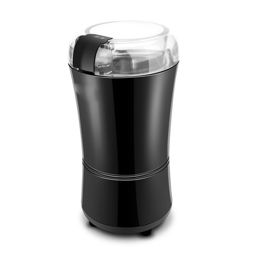 Electric Spice and Coffee Grinder with Stainless Steel Blades, 3-Ounce, Black Rice red green beans pill Household