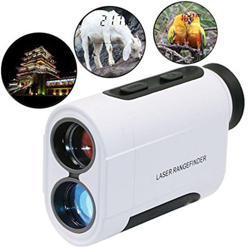 Nouveau 600 m 6X Télescope Laser Télémètre Laser Mètre de Distance De Poche Monoculaire Golf Chasse Gamme Finder