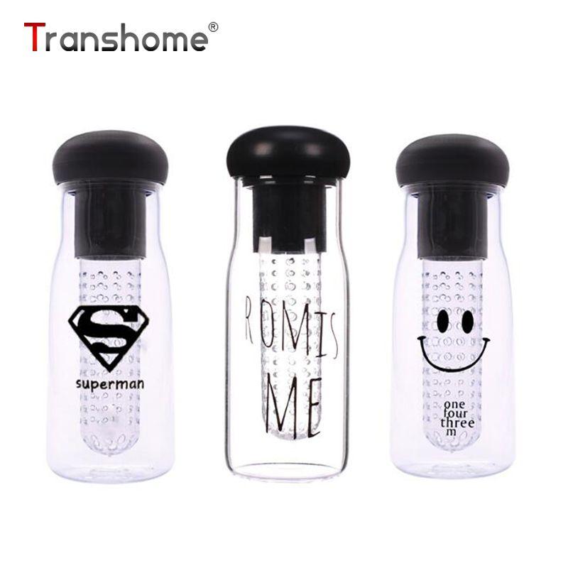 Transhome фруктовый сок бутылка 750 мл фруктов сок лимона для заварки Пластик ломкий в Корейском стиле Герметичность BPA Туалетная вода Бутылочки