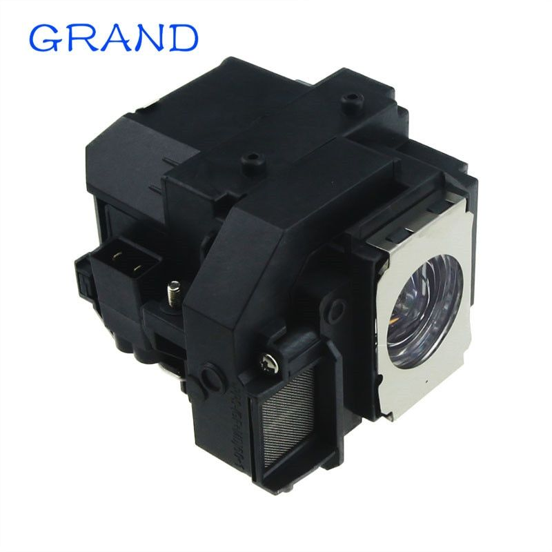 Compatible projector lamp bulb ELPLP58 for Epson EB-S9 EB-S92 EB-W10 EB-W9 EB-X10 EB-X9 EB-X92 with housing <font><b>GRAND</b></font>