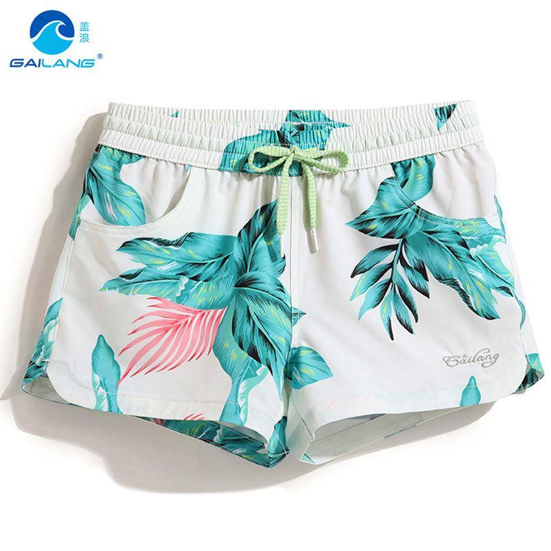 Gailang женские летние доска Шорты Beach Surf Шорты Бермуды купальники женские свободный купальный костюм plavk пот доска пикантные Run