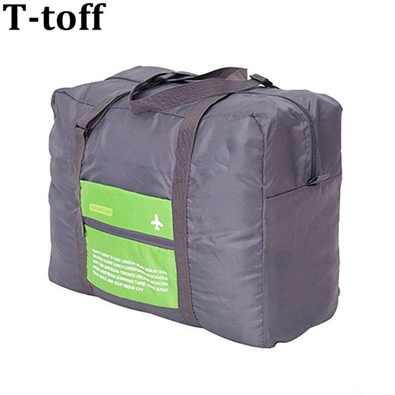 Voyage pliant grand duffle bagage à main sac fourre-tout bagage organisateur pliable voyager bagages grand sacs emballage cubes