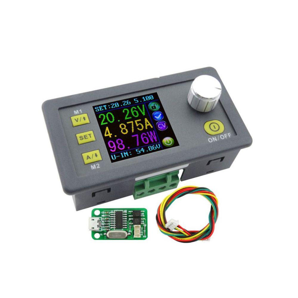 Dps5005 постоянного тока Связь Функция постоянной Напряжение понижающий Питание модуль Напряжение преобразователь вольтметр