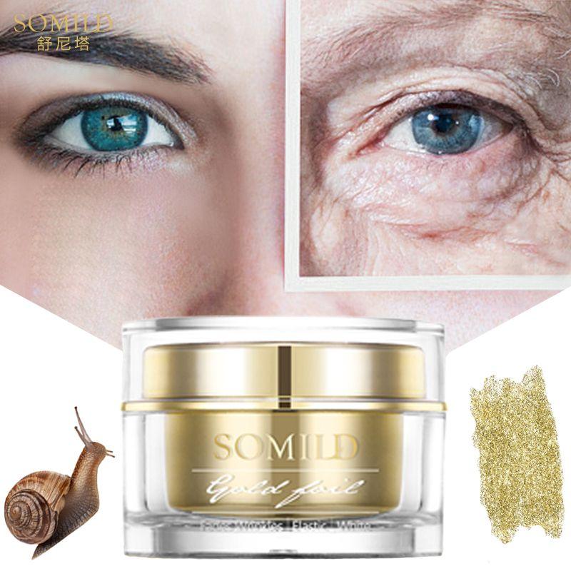 SOMILD 24 K or crème pour le visage escargot Essence Anti-âge soins de la peau rides imperfections supprimer les cosmétiques coréens crème pour les yeux blanchiment du visage