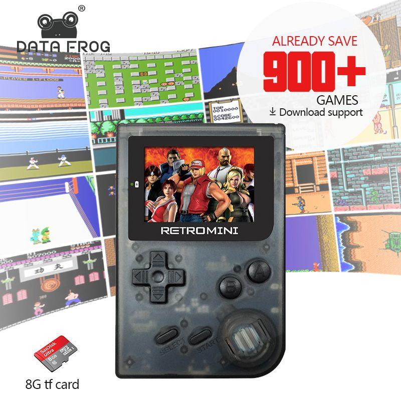 Tragbaren Handheld 32Bit Spielkonsole Retro Stil Mini Handheld-Spiel-Spieler Eingebautes Für GBA/SFC/NEO Klassische Spiele geschenk Für Kind