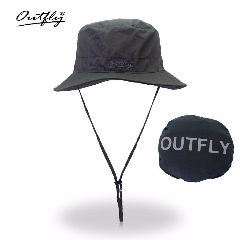 Lettre broderie seau chapeau pêcheur chapeaux plein air séchage rapide pêcheur chapeau été soleil chapeau hommes femmes