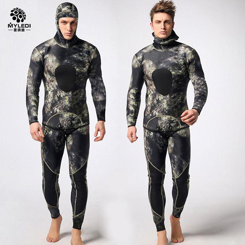 Taucheranzug neopren 3mm männer pesca tauchen speerfischen neoprenanzug surfen schnorchel badeanzug Split Anzüge combinaison surf neoprenanzug DHL5-7