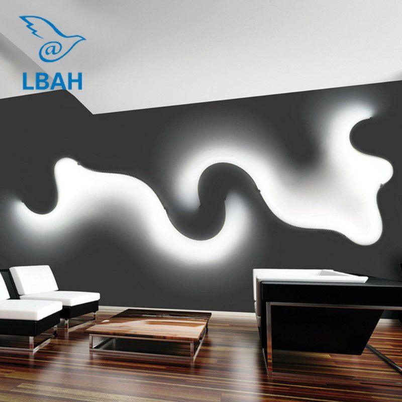 Postmodernen vertraglich kreative led wand lampe dekoration schlafzimmer wohnzimmer korridor korridor lampen und laternen