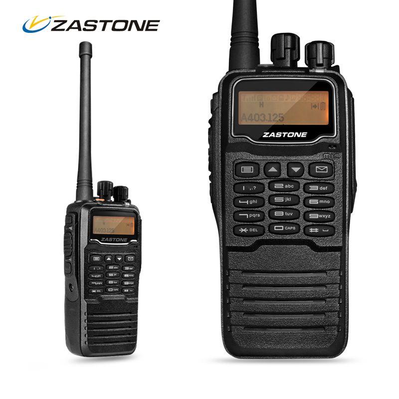 Zastone ZT-DP880 DMR Digital Walkie Talkie Waterproof IP67 Handheld DMR Walkie Talkie UHF 400-470MHz Two-Way Radio CB Ham Radio