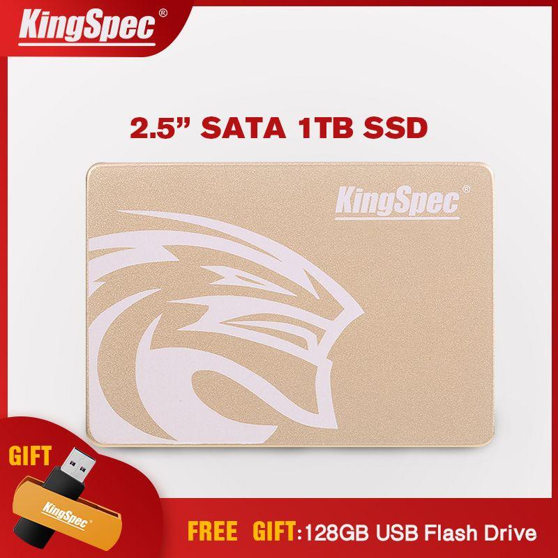 KingSpec 2,5 Zoll SATAIII 1 TB SSD 500 GB Interne Festplatte Festplatte 512 GB SSD P3-1TB HDD HD Für desktops Notebook Server Tabletten PC