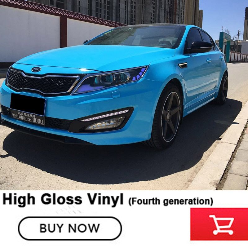 Fourth generation Gloss Vinyl Wrap With 3 layers anthracite Vehicle Wrapping With Bubble Free Car Covering film 1.52x20m/roll