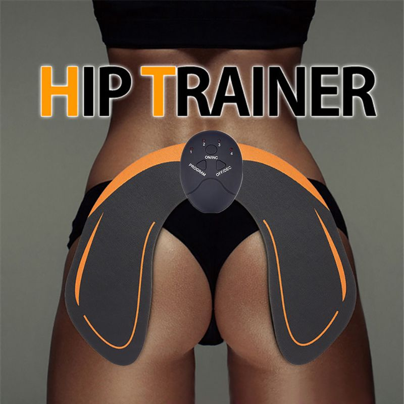 EMS Hip Trainer Intelligent Fitness Weight Loss Body Slimming Massage EMS Muscle Stimulator ABS Buttock Tighter Massager Unisex