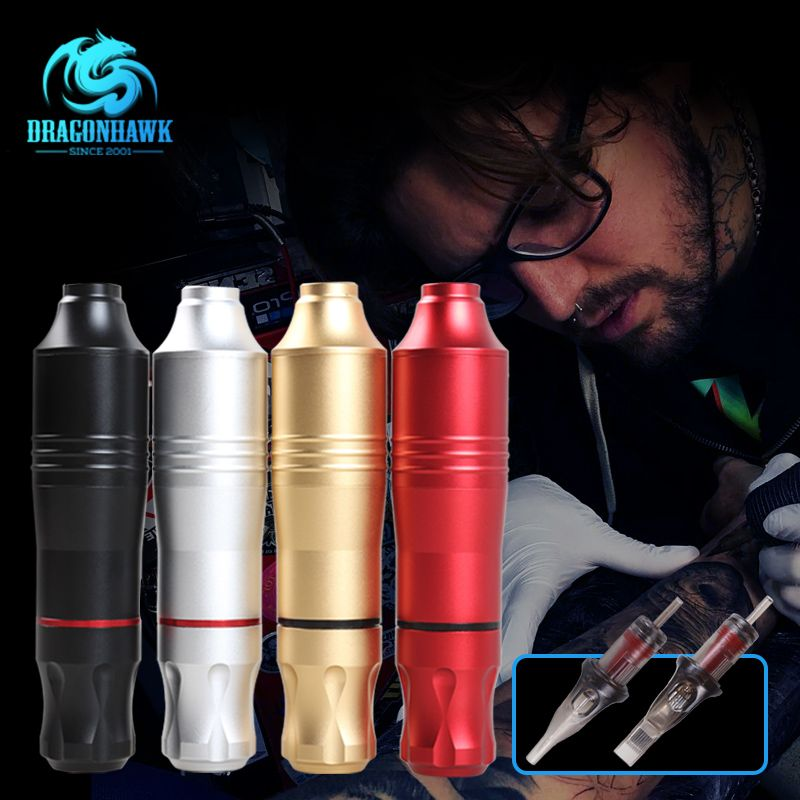 Professional Tattoo Rotary Machine Pen Quietly Motor Make up Brand Guns <font><b>Supplies</b></font>