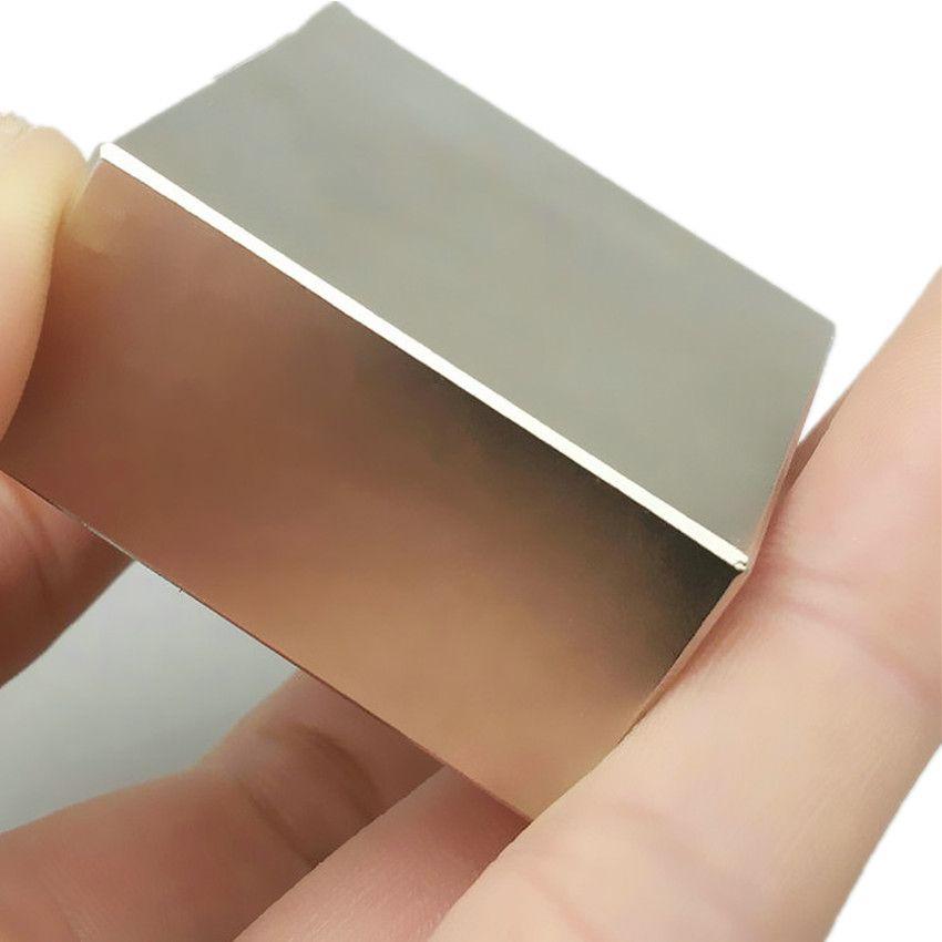 1 stück NdFeB N52 Block 50x50x25 +/-0,1mm Wasserzähler Filter 5000GS über 2 x 2 x 1 Super Starke Neodym-permanentmagnet Industrie Magnets