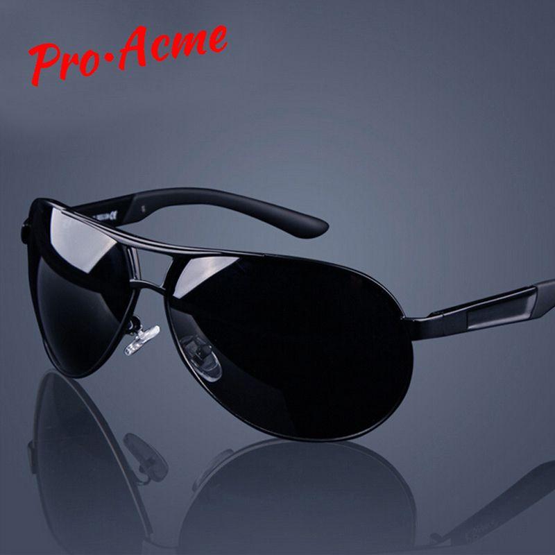Pro Acmé Classique Hommes Polarisées lunettes de Soleil Polaroid Voiture Pilote Lunettes De Soleil Homme Lunettes lunettes de soleil UV400 qualité supérieure CC0444