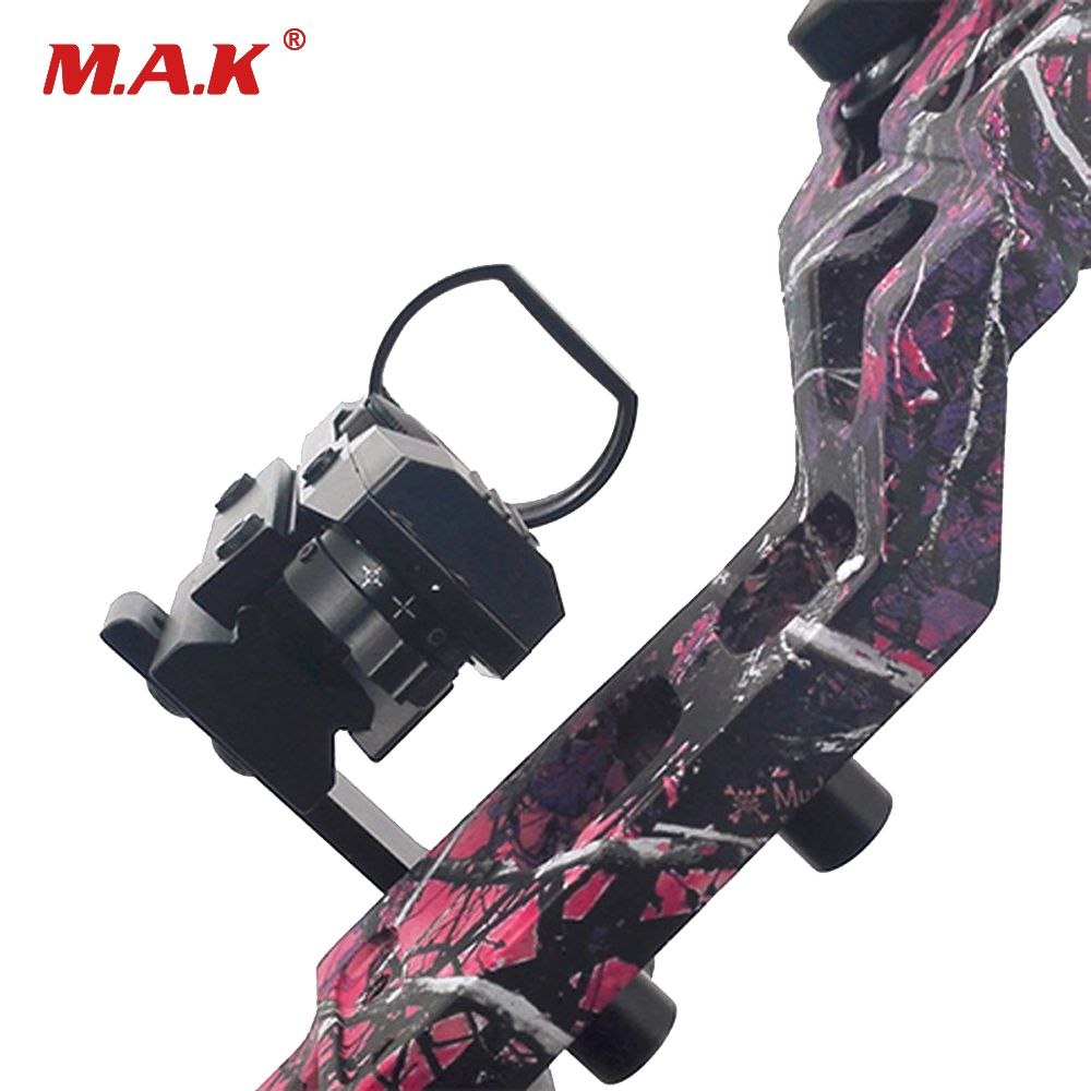 Compound Bow Scope Laser Rail Mount Adapter Steady Set of Aluminum Alloy Archery Accessory for Hunting Compound and Recurve Bows