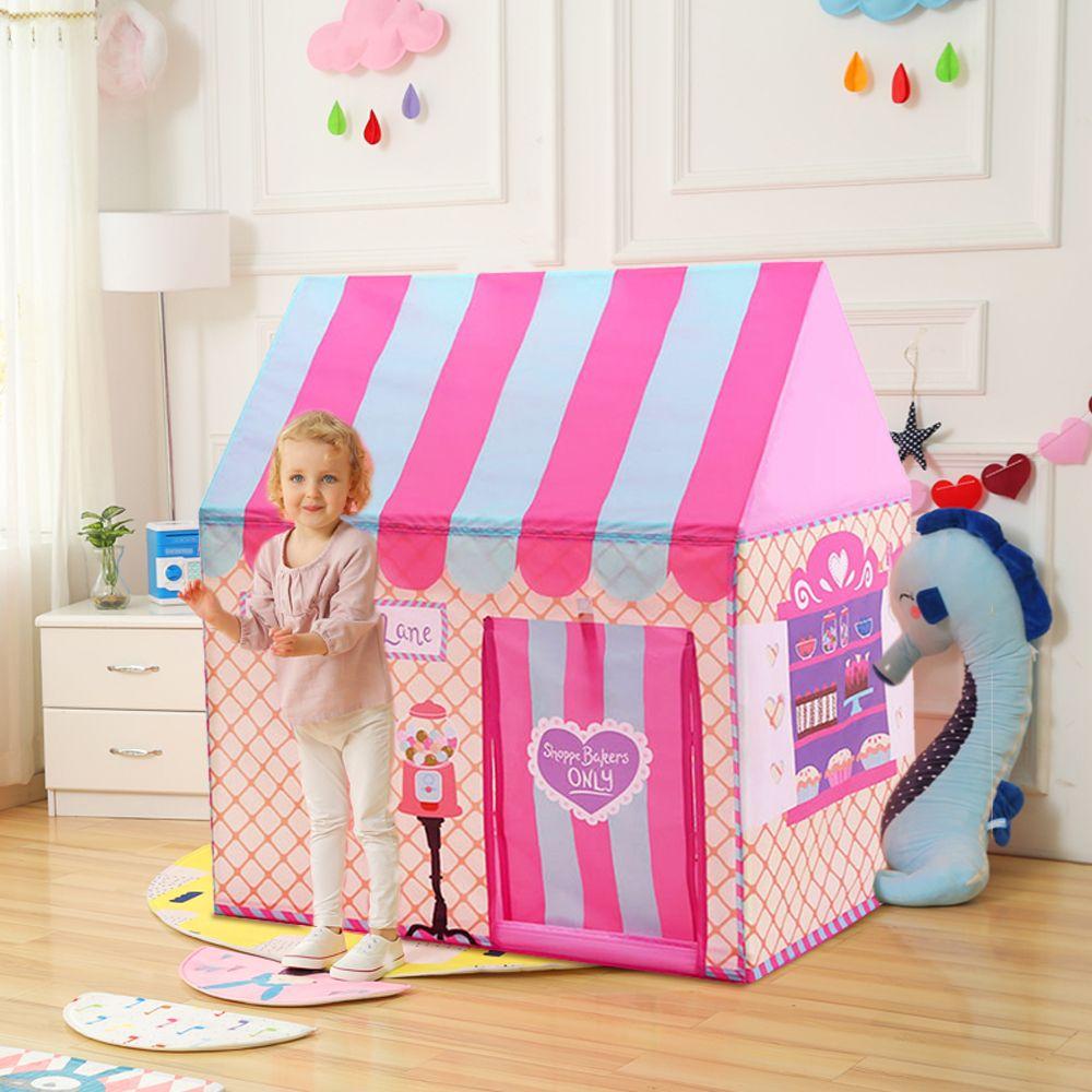 Cour enfants jouets tentes enfants jouer tente garçon fille princesse château intérieur extérieur enfants maison jouer boule fosse piscine Playhouse