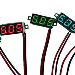 Voltage Tester Meter Safe and reliable 0.28 inch Mini voltmeter 2.5-30v LED display voltage meter digital display voltmeter