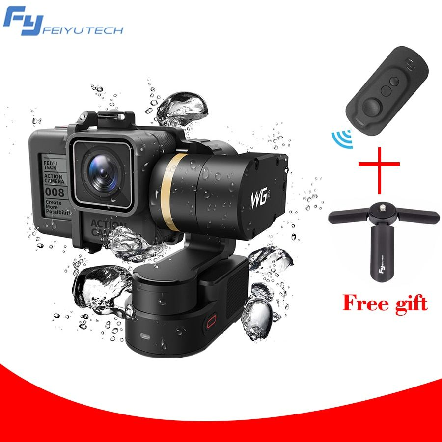 FEIYU TECH FY WG2 Waterproof Gopro Wearable Gimbal Stabilizer for Gopro hero and Gopro Session with mini tripod