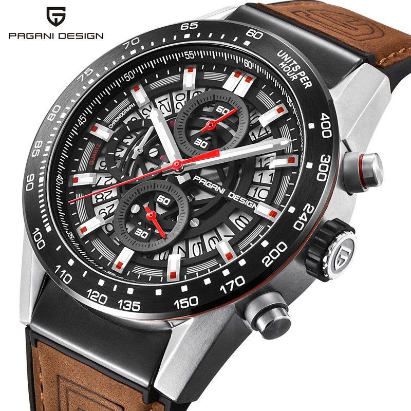 PAGANI DESIGN 2018 Top Luxus Marke Wasserdichte Quarzuhr Mode Militär Männer Armbanduhr Countdown-Uhr Relogios Masculino