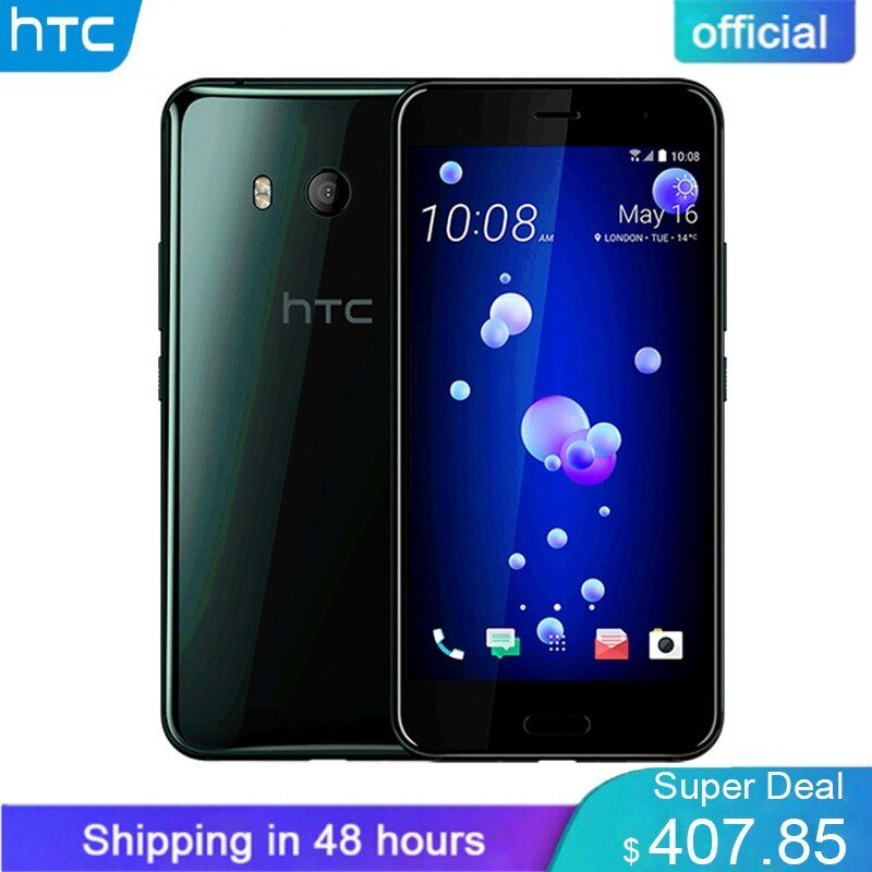 Brand New Original HTC U11 4G LTE 6GB RAM 128GB ROM Snapdragon 835 Octa Core 5.5 inch IP67 Waterproof 2560x1440p Mobile phone