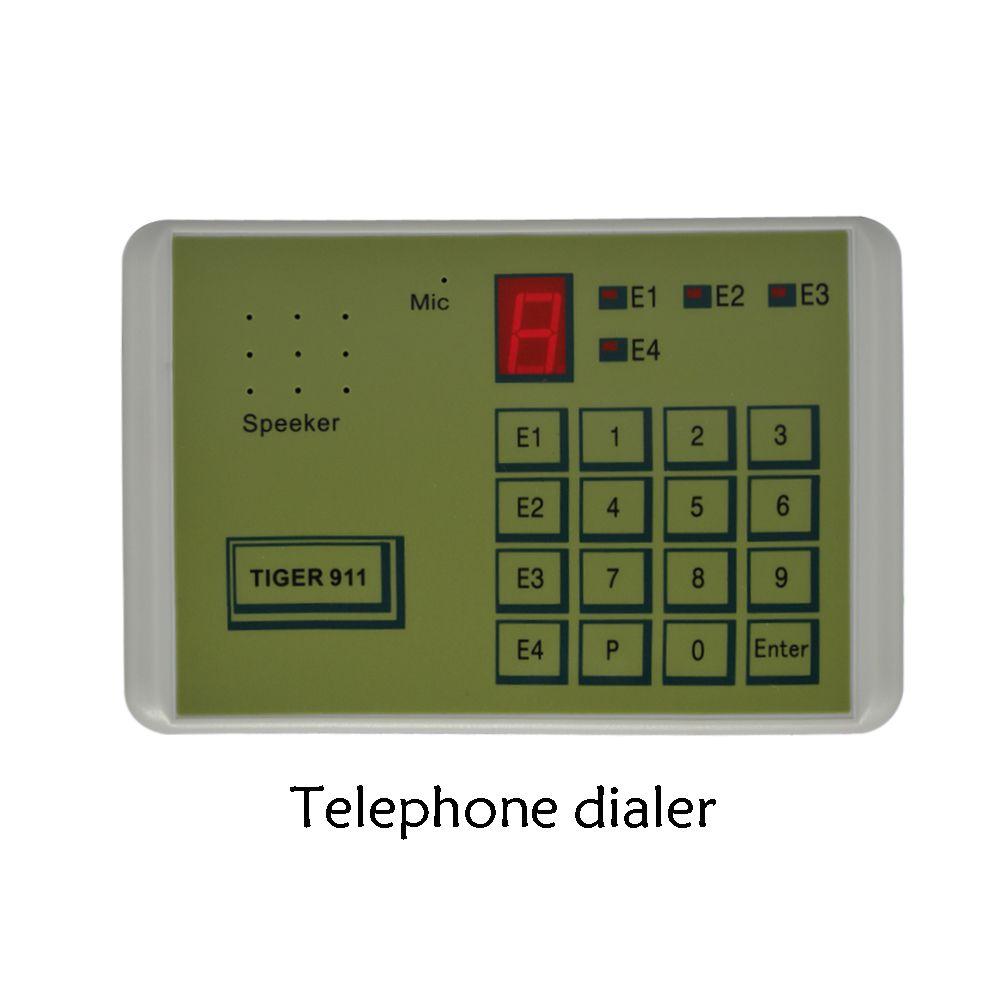 (1 pièces) Tiger 911 Auto téléphone Dialer système d'alarme accessoires appelant outil de transfert Terminal fixe mis en NC NO ou tension
