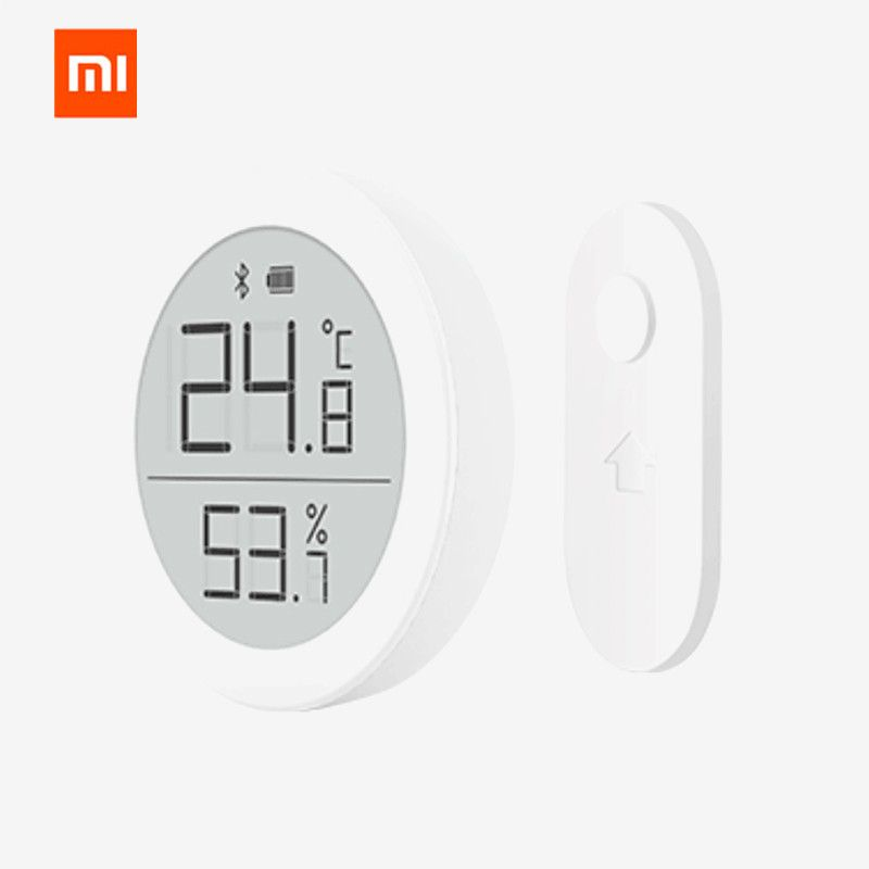 xiaomi mijia Digital Bluetooth Thermometer and Hygrometer Electronic Ink Screen 30 Days Data Automatic Recording By Mi home app