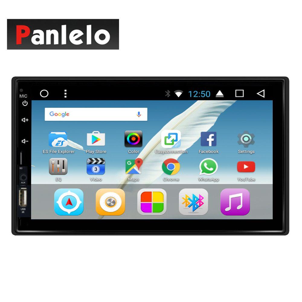 Android 7.1 Kopf Einheit 2 Din Auto Stereo 2 gb RAM Octa Core Auto Radio (AM/FM/RDS) lenkrad Control Spiegel Link Musik Video