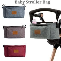 High quality New Cup bag Stroller Organizer Baby Carriage Pram Buggy Cart Bottle Bag Stroller Accessories Car Bag free shipping