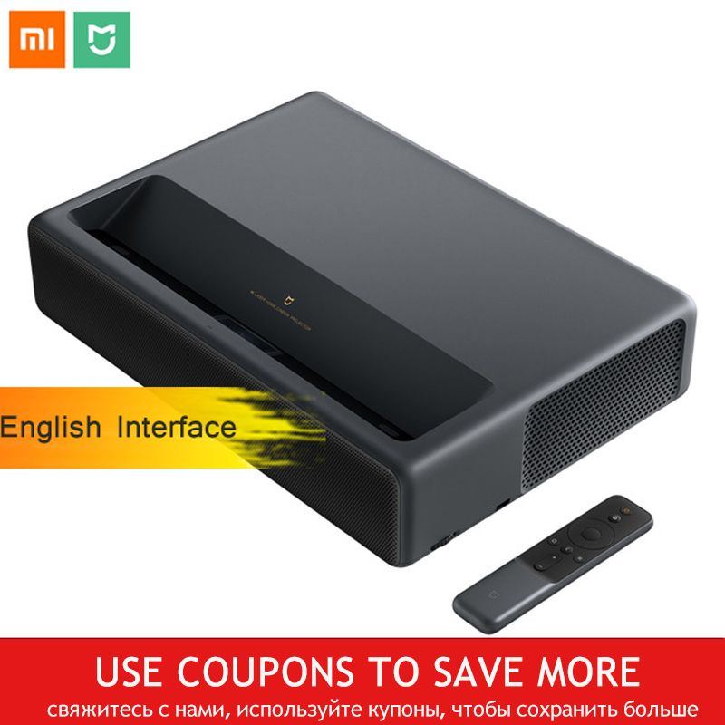 Xiaomi Mijia MJJGTYDS01FM Laser Projektor 4 K 2 GB 16 GB Englisch Interface MIUI TV HDR TV Bluetooth WiFi 3D home Theater System