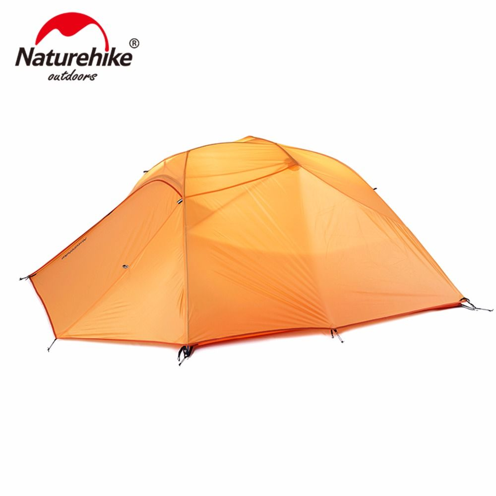 Naturehike 3P Ultralight Outdoor Backpacking Tent With Free Mat Perfect For Backpacking Hiking Camping Kayaking Bikepacking