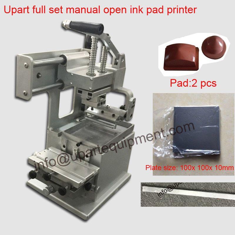 Handtampondruckmaschine mit pads und arzt balde