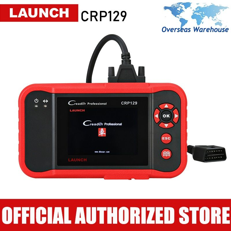 Launch X431 Creader CRP129 Car Diagnostic Tool ABS SRS Airbag Scanner Auto Diagnostics Scan Tools Autoscanner Brake Oil Reset