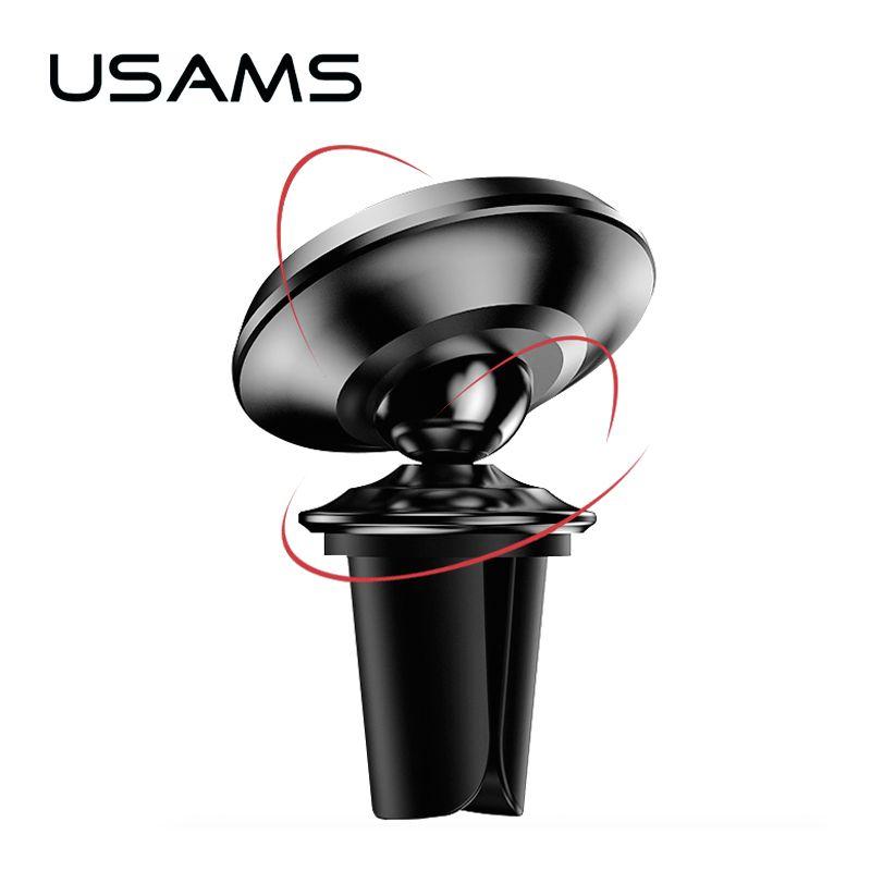 USAMS 2 Stil Magnetic Autohalterung Stehen Für iphone X 8 7 6 s Samsung S8 Air Vent GPS Universal Handy Halter Freies schiff