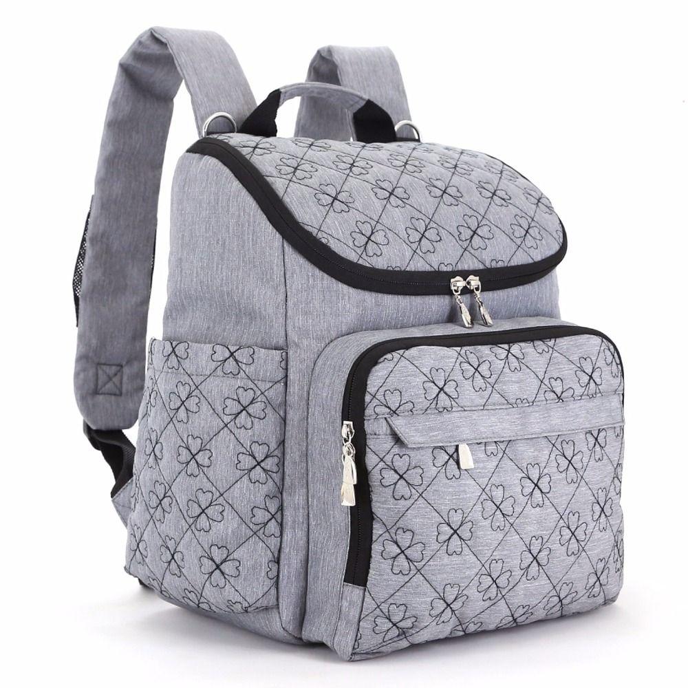 Diaper Bag Fashion Mummy Maternity Nappy Bag Brand Baby Travel Backpack Diaper Organizer Nursing Bag For Baby Stroller