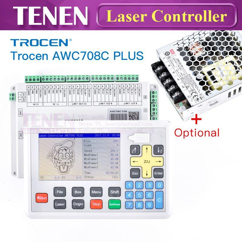 Trocen Anywells AWC708C Plus CO2 Laser Controller DSP System Modell Motherboard Master-Board Für Schneiden Gravur Maschine