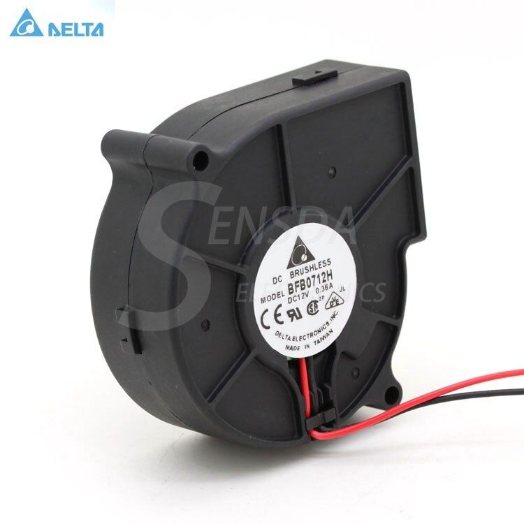 Free Shipping Delta BFB0712H 7530 DC 12V 0.36A projector blower centrifugal fan cooling fan