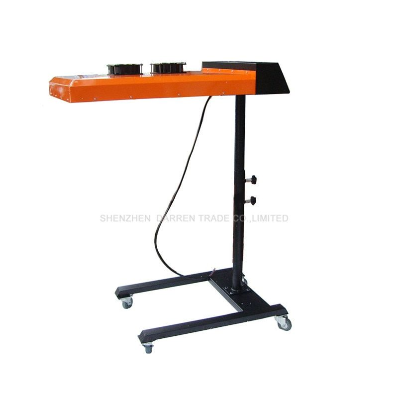 1pc 220V New Digital Flash Dryer for Silk Screen Printing Machine Dry Machine for T-shirt Press with Printing Area 50*60CM ND602