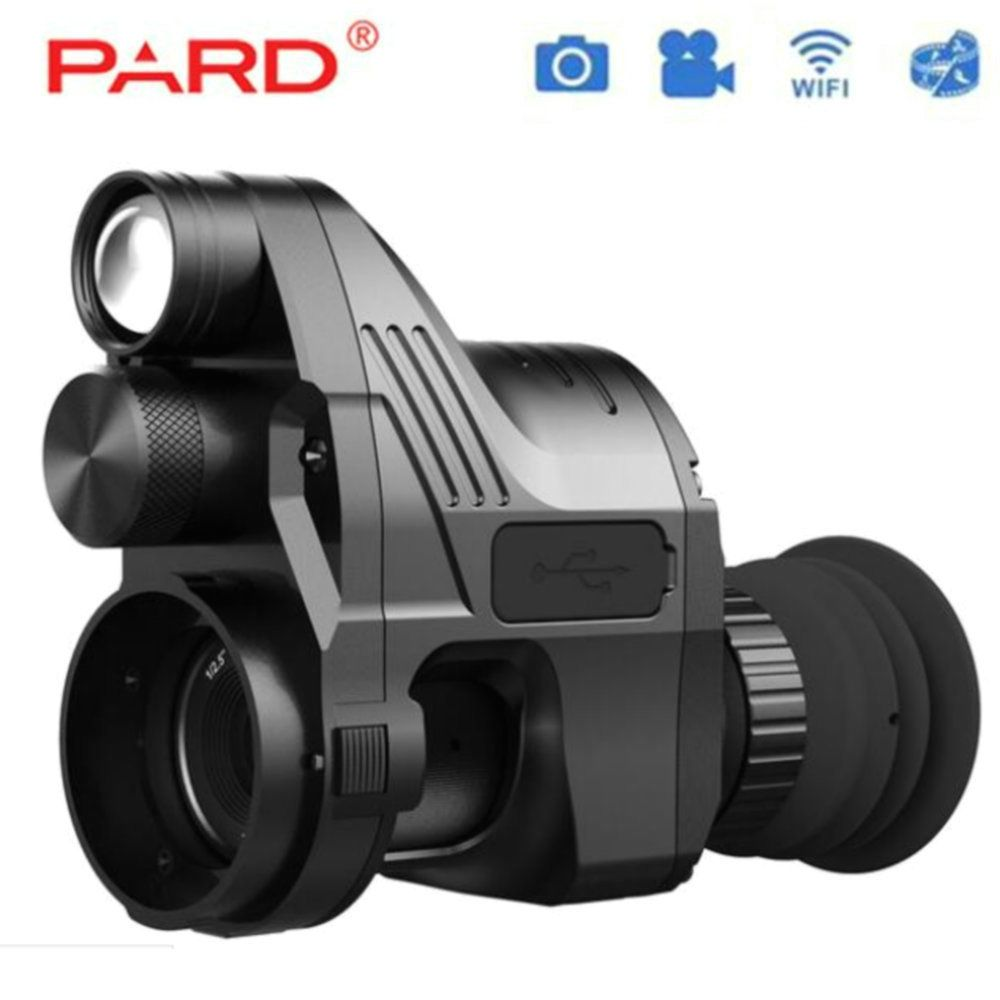 PARD NV700 Riflescope Digital Night Vision Built-in IR-illuminator Red Laser connection Rifle scope use