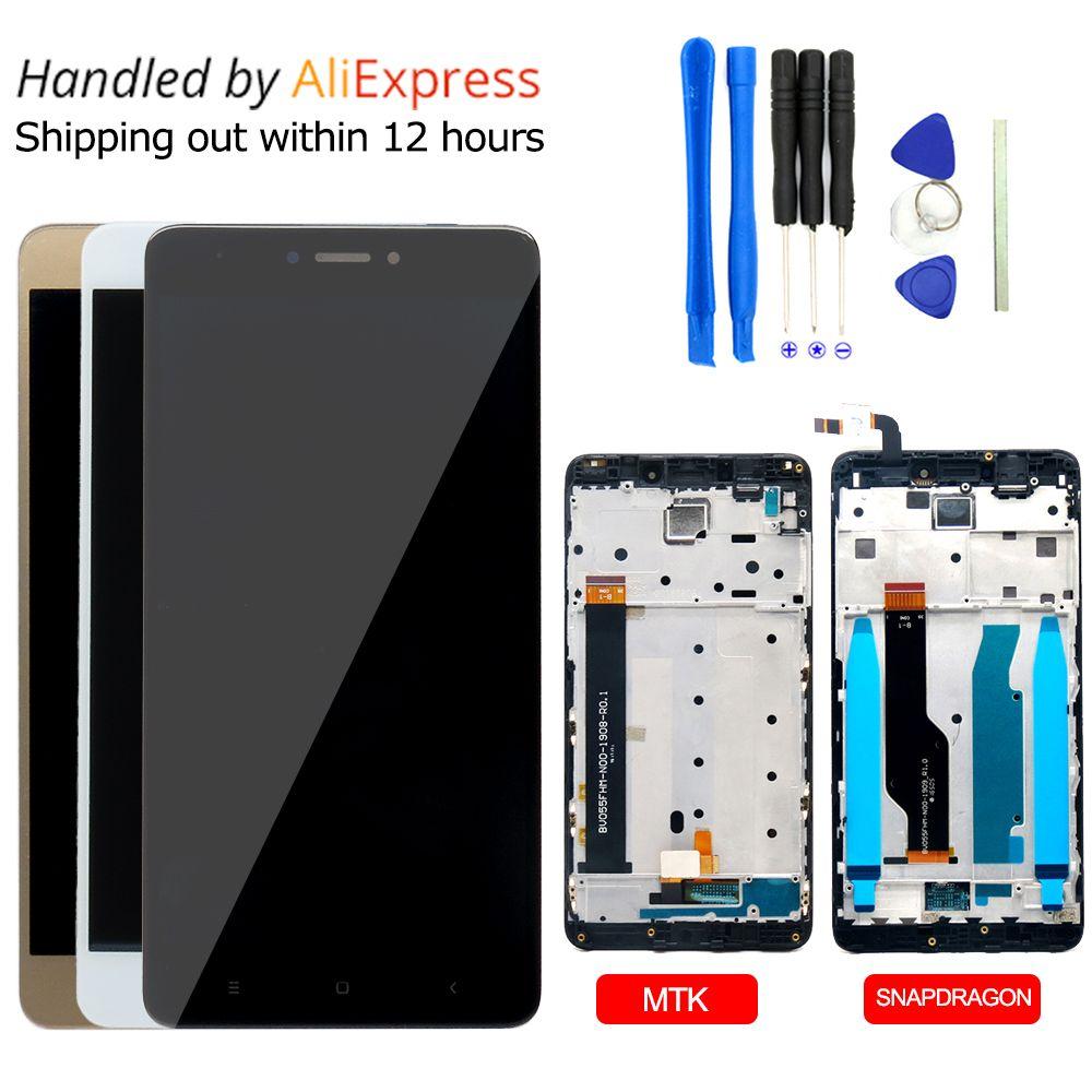 2017 Nouveau Pour Xiaomi Redmi Note 4 LCD Affichage à L'écran Tactile remplacement Pour Xiaomi Redmi Note 4 Premier Pro Téléphone Pièces FreeTools