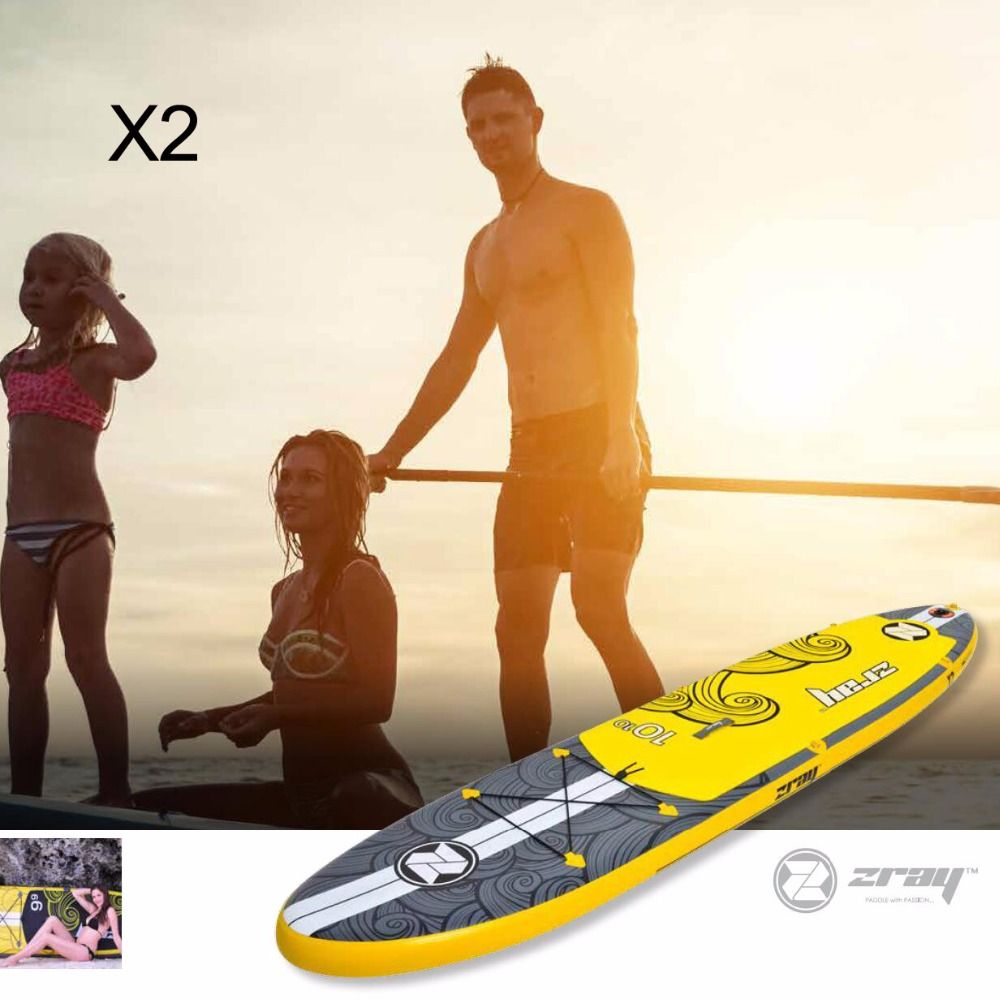 Surf board 330*76*15 cm JILONG Z RAY X2 aufblasbare sup bord stand up paddle board surf kajak sport aufblasbare boot bodyboard
