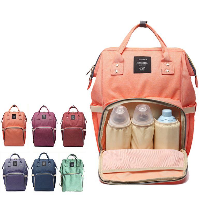 Fashion Mummy Maternity Nappy Bag Brand Large Capacity Baby Bag Travel Backpack Designer Nursing Diaper Bag for Baby Care