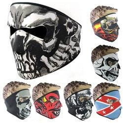 1pcs Unisex Windproof Full Face Mask Winter Snowboard Ski Mask Ride Bike Motorcycle CS Cap Neoprene Mask For Men Women