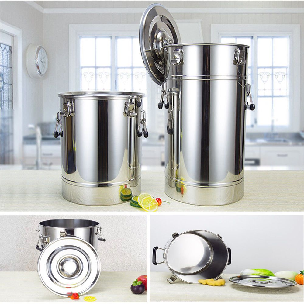 Spare Parts For Moonshine Still/Home Distiller: 25L-175L 304 Stainless Fermenter Tank Storage Food Milk Wine Beer Brewing Barrel